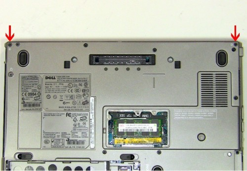 Dell D630 hinges
